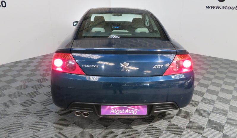 PEUGEOT 407 COUPE 2.7 HDI V6 204CV BVA SPORT 11/2006 134241KMS complet
